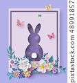 Illustration of Easter day 48991857