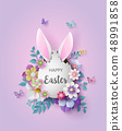 Illustration of Easter day 48991858