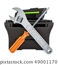 Laser Printer Maintenance and Repair concept 49001170