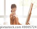 미술 아틀리에 인물화 그림 49005724