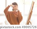 艺术工作室人绘图 49005726