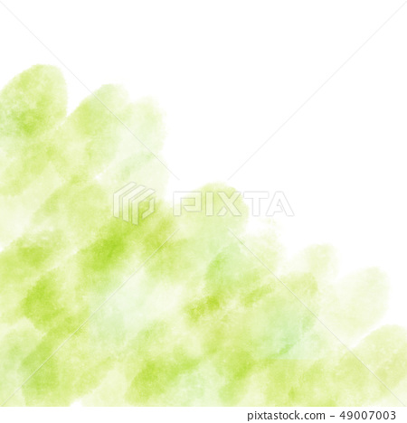 Watercolor texture background hazy green 49007003