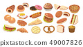 Various bread 49007826