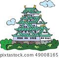 大阪城堡 49008165