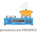 Gas stove 49008923