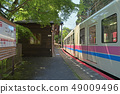 火車進入Kotoden-Ninose站 49009496