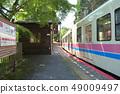 火車進入Kotoden-Ninose站 49009497