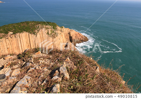 Hong Kong Global Geopark at sai kung 49010815
