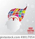 愉快的聖誕節和聖誕老人例證 49017054