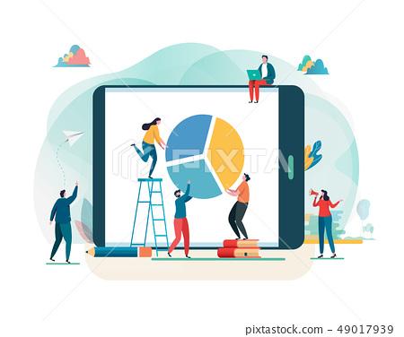 Business report. Financial management, Teamwork. 49017939