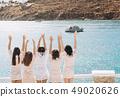 girls hen party travel sea resort yacht 49020626