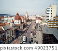 Aerial shot of Targu Mures old city 49023751