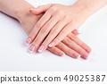 Female classic manicure. 49025387