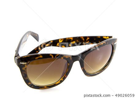 Sunglasses isolate 49026059