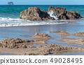 Hot Water Beach in winter 49028495