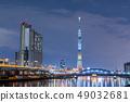 在東京奧運會和殘奧會前500天舉行的東京天空樹特別寫作夜景 49032681