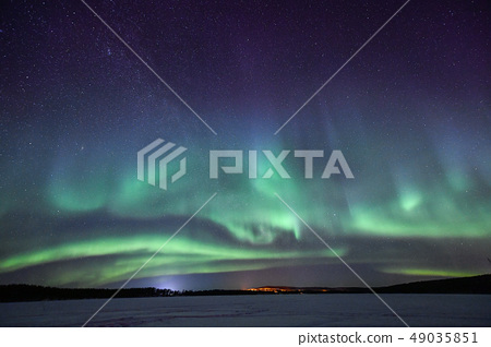 芬蘭的極光 49035851