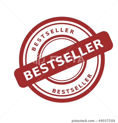 stamp bestseller vector 49037589