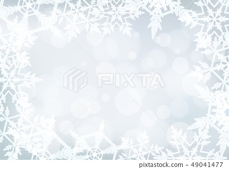 Background design with snowflakes 49041477
