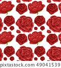 無縫的 玫瑰 玫瑰花 49041539