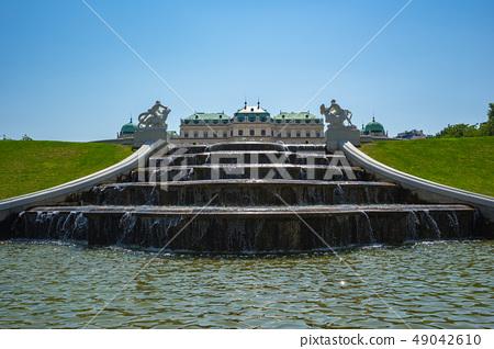 Belvedere Garden in Vienna city, Austria 49042610