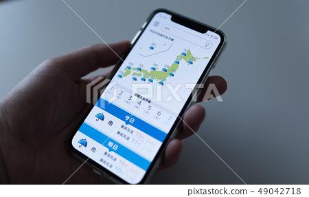 天氣預報 智能手機 智慧手機 49042718