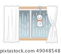 雨季的窗戶 49048548