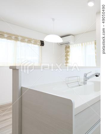 新建住房LDK的系統廚房 49050490