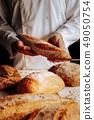baker, bread, baguette 49050754