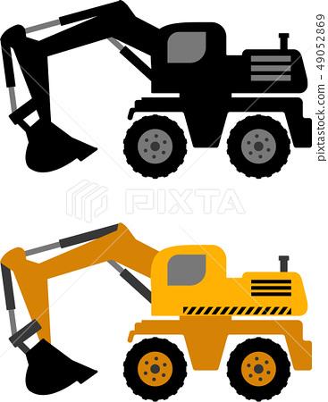 excavator icon 49052869