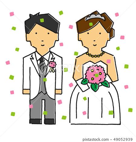 결혼 색종이 버전 (터치 B) 49052939