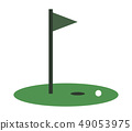 golf icon 49053975
