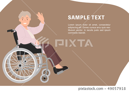 Cartoon people character design banner template 49057918