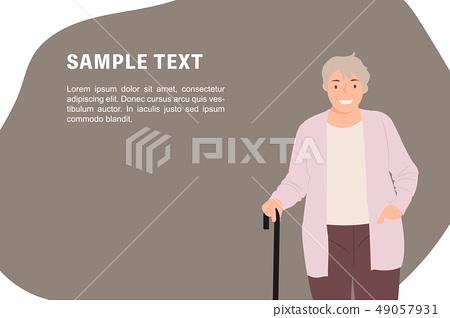 Cartoon people character design banner template 49057931