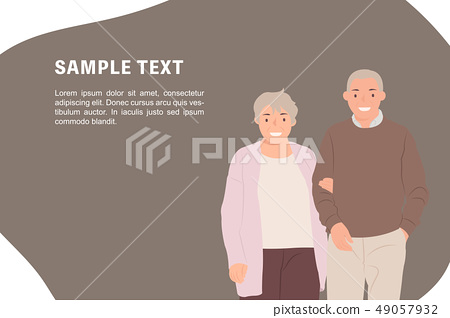 Cartoon people character design banner template 49057932
