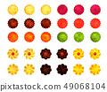 甜點例證材料 49068104