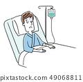 被住院治療的年輕人 49068811