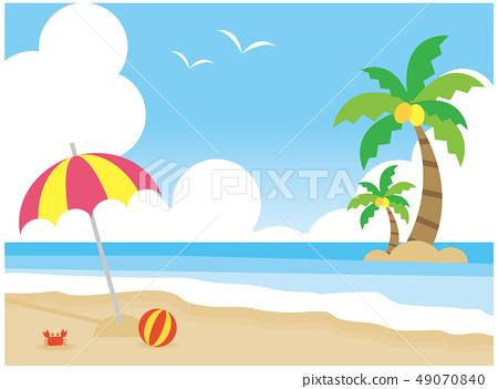 海灘 49070840