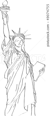 the statue of Liberty 49074755