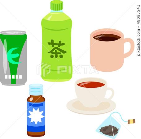 套飲料包括咖啡因 49083541
