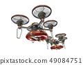 救援无人机(带浮筒和透明材料) 49084751