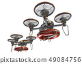 Rescue drone (with floats and transparent material) 49084756