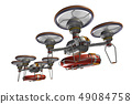 Rescue drone (with floats and transparent material) 49084758