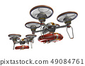 Rescue drone (with floats and transparent material) 49084761