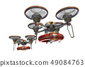 Rescue drone (with floats and transparent material) 49084763