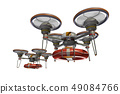 Rescue drone (with floats and transparent material) 49084766