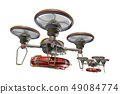 Rescue drone (with floats and transparent material) 49084774