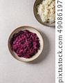 Plate of sauerkraut 49086197