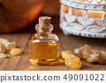 A bottle of frankincense essential oil  49091022
