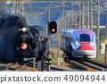 아키타 신칸센과 증기 기관차 49094944